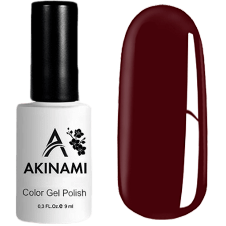 Гель-лак Akinami Color Gel Polish- тон №23 Tawny Port